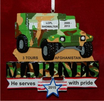 U.S. Marine Humvee Honor of Service