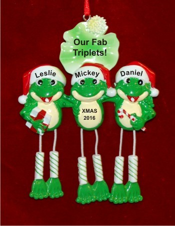 Fun, Froggy & Festive Our 3 Kids