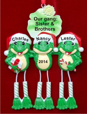 Froggy Fun for 3 Brothers & Sisters