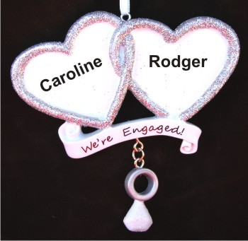 We're Engaged Two Hearts Become As One