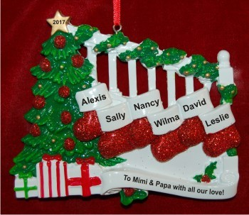 Grankids Stockings Hang with Love 6
