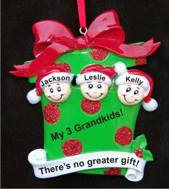 3 Grandkids Celebrate the Holidays