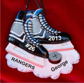 Hockey Skates Like Lightning