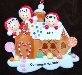 Gingerbread House Our Three Kids