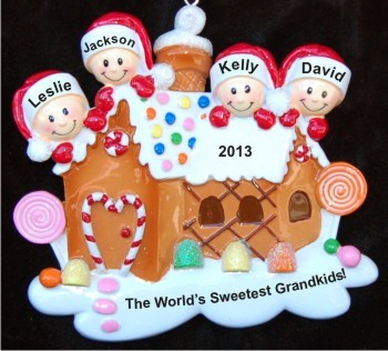 Gingerbread House Four Grandkids