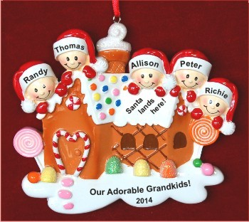 Gingerbread & Candy: Our 5 Grandchildren