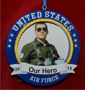 US Air Force Photo Frame with Easel