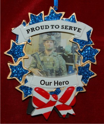Armed Forces Photo Frame with Easel