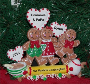 Our Special Granddaughter - Grandparents Tabletop Christmas Decoration