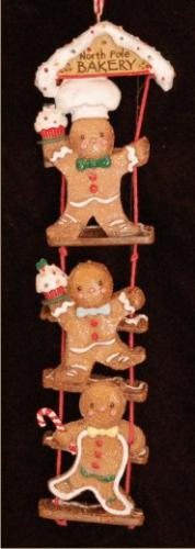 Gingerbread Ornament 3 Times as Fun