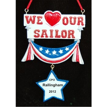 We Love Our Sailor