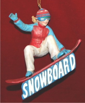 Super Skilled Snowboarding Girl 3D