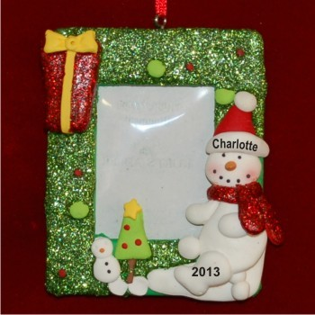 Snowy Day Photo Frame