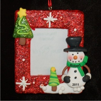 Snowman Delights Photo Frame
