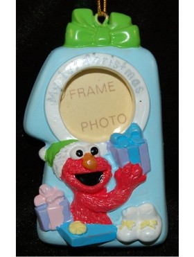 Elmo Baby's First Christmas Frame