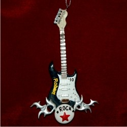 Rock Star Black Guitar
