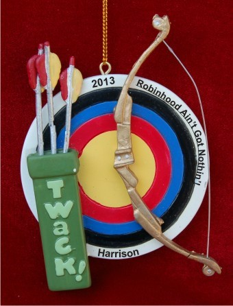 Archery Target & Bow
