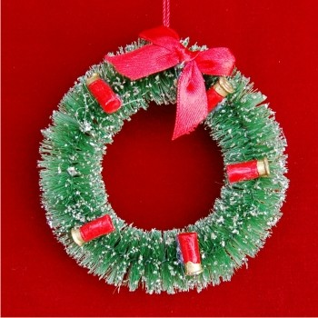 Hunter's Christmas Wreath