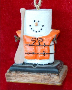 S'Mores Canoeing Ornament