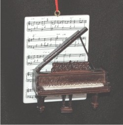 Piano with Musical Score