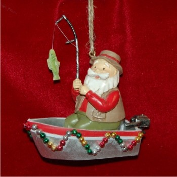 Santa's Out Fishing
