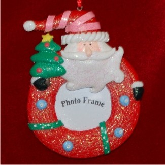 Christmas Memories Santa Photo Frame
