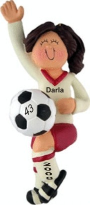Soccer Player Female Brown Hair
