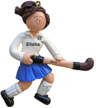 Field Hockey Female Brown Hair