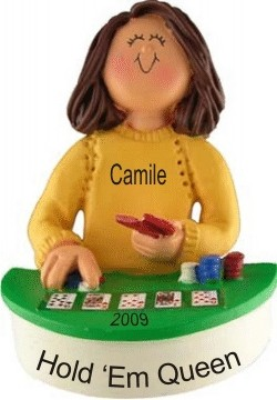 Poker Champ! Female Brown Hair