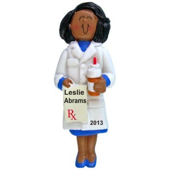 African American Female Pharmacist