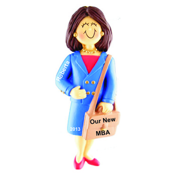 Business School Graduation Gift Idea Female Brown Hair