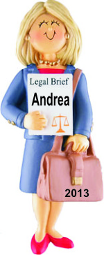 Lawyer Female Blonde Hair