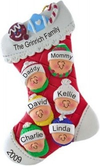 Family Stocking for 6