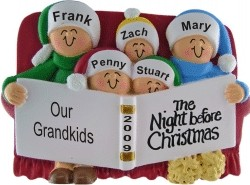 Night Before Christmas - 5 Grandchildren