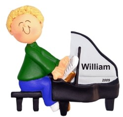 Piano Virtuoso Male Blonde Hair