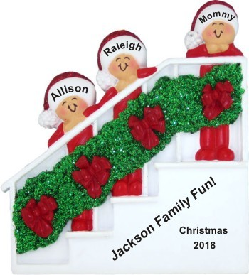 Holiday Banister Single Mom 2 Kids