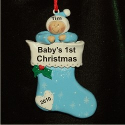 Stocking for Baby Boy
