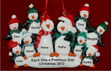 Penguin Togetherness Family of 10