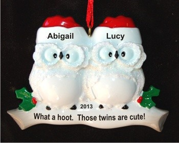 What a Hoot!  Twins are Cute