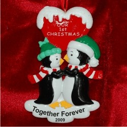 Penguins Kiss, Our First Christmas