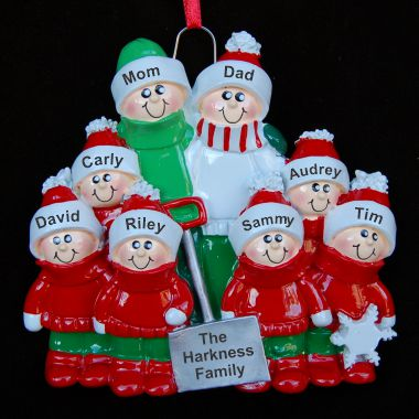 Snow Shovel Family of 8