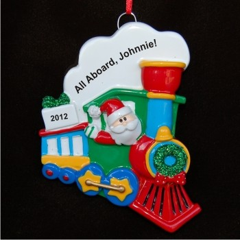 Santa Choo Choo at Christmas