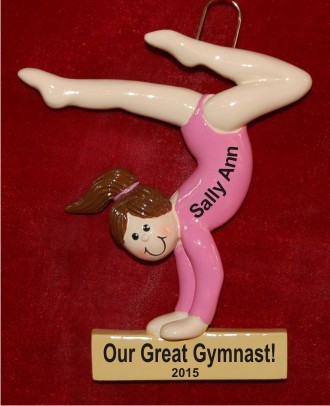 Gymnast for the Ages Girl Brunette