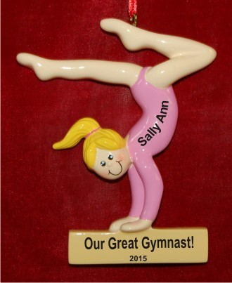 Gymnast for the Ages Girl Blond