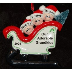 Christmas Sleigh for Grandkids - 3
