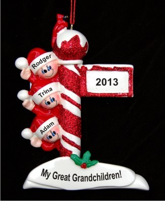 Holiday Celebrations: My 3 Great Grandchildren