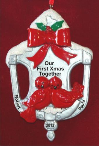 Door Knocker Our First Xmas Together