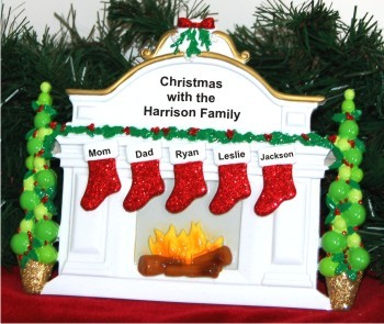 Christmas Mantel: 5 Grandkids Love to Grandparents