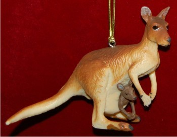 Kangaroo with Baby Roo