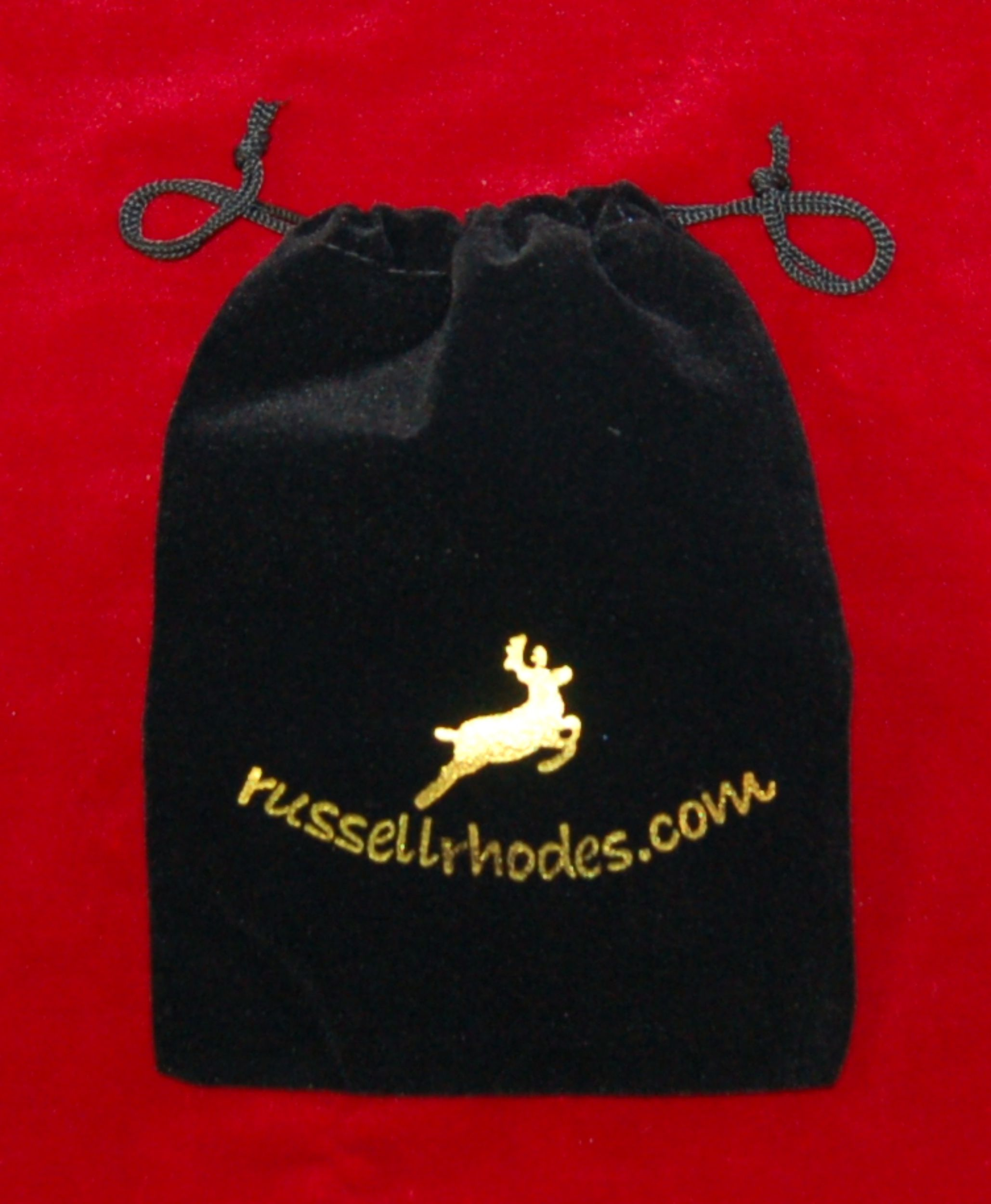 Christmas Ornament Bag 6 by Russell Rhodes